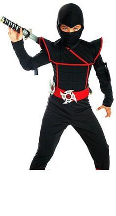 Boys Stealth Ninja Costume.JPG 310×577 pixels