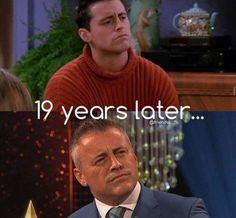 Matt LeBlanc (Joey Tribbiani from the tv show friends) then and now (19 years later!) #thatsbeauty