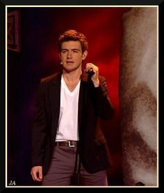 Emmet Cahill from Celtic Thunder. What is it about Irish men?