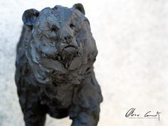 Little Ours brun by #oliviercourty #bear #ours #sculpture #sculpteur #art #creation #french #frenchie #artwork #creativity