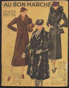 Au Bon Marché (Department Store) 1938 Catalog