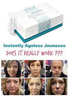 Instantly Ageless by Jeunesse, DOES IT REALLY WORK amazing eye wrinke cream, beauty