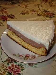Cristina's world: Tort cu doua creme diferite de branza - dukan style Dukan Diet, I Foods, Tiramisu, Sandwiches, Cheesecake, Keto, Meals, Ethnic Recipes, Desserts