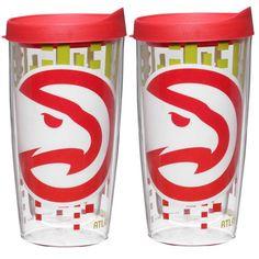 Atlanta Hawks 16oz. Tritan Slimline Tumbler 2-Pack Set - $20.99