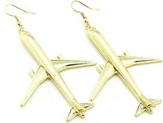 These earrings are perfect for a jet-setter