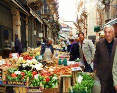 Catania - Obst und Gemüsemarkt