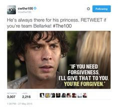 even the official twitter page supports bellarke