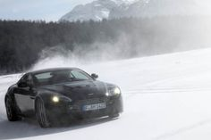 The BlackSwift Aston Martin @ St. Moritz Switzerland