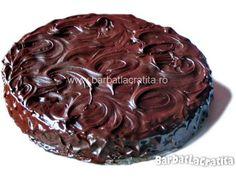 Tort cu crema de ciocolata si frisca