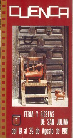San Julián 1981, del 19 al 29 de agosto El pregón de fiestas es pronunciado por Carlos de la Rica en la Casa de Cultura de Cuenca