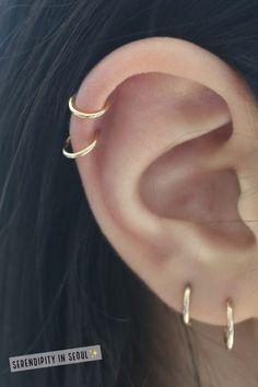 Ear Cuff No Piercing, Leaf Ear Cuff Silver, Conch Earring, Gift for Women , Olive Branch Ear Cuff for Unpierced Ears - Custom Jewelry Ideas Ear Jewelry, Cute Jewelry, Body Jewelry, Jewelry Ideas, Jewellery, Jewelry Findings, Cartier Jewelry, Jewelry Crafts, Jewelry Box