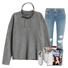 """""""one tree hill"""" by ellaswiftie13 ❤ liked on Polyvore featuring Frame, H&M, Däv, Casetify, Converse, Kate Spade, Alex and Ani, Too Faced Cosmetics, Chloé and Honora"""