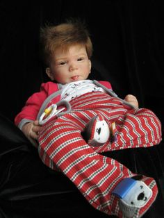 AVAILABLE FOR SALE ON EBAY OR EMAIL ME AN OFFER AT angel1111@q.com REBORN BABY DOLL ~ CATHY~ OLGA AUER~  SOLD OUT KIT. PRECIOUS BABY BOY