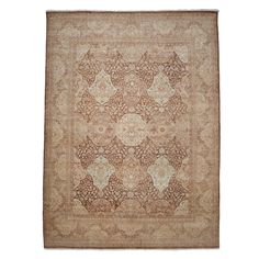 "Oushak Collection Oriental Rug, 9'1"" x 12'5"""