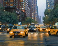 Realist oil NYC paintings and artist's new series with nature and botanicals New Series, New York City, Nyc, Studio, Nature, Artist, Painting, Naturaleza, New York