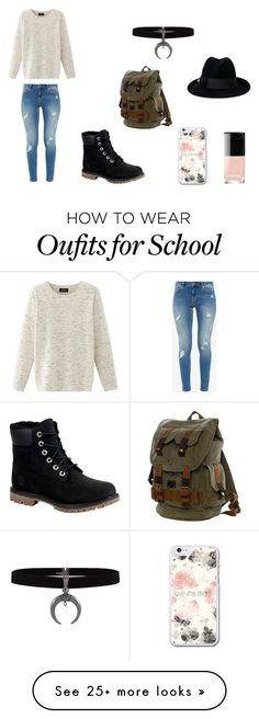 """Untitled #118"" by blh2701 on Polyvore featuring Gucci, Ted Baker, Timberland, Nolita and Chanel"