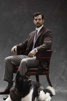 Henry Cavill News — New outtakes of Henry Cavill and Kal for The Rake...