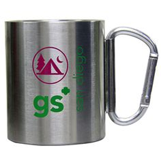 GSSD Camp Mug with Carabineer Handle