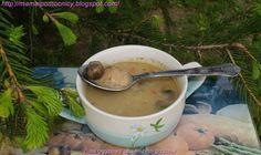 Mama i Pomocnicy: Zupa grzybowa ze świeżych grzybów