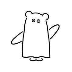 Halloween Bear #halloween #bear #animal #ghost #character #fashion #seijimatsumoto #松本セイジ #art #artwork #draw #graphic #illustration #イラスト #クマ #ハロウィン #ファッション #デザイン #アート