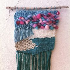 Cotton Candy   #weaving #wallhanging