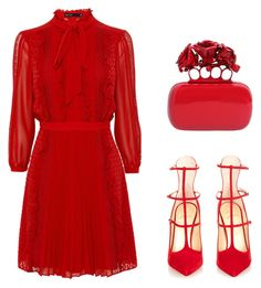 """Untitled #264"" by tam-west on Polyvore featuring Christian Louboutin and Alexander McQueen"