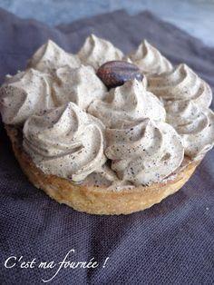 La tarte au café (coffee tart) de Pierre Hermé Recipe | C'est ma fournée! ᘡղbᘠ
