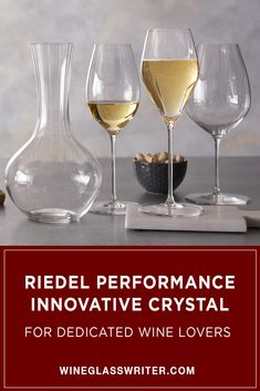 After three generations of research and development, Riedel has created the Performance Series, which combines varietal-specific bowls and a unique optical effect to highlight every aroma and subtle nuance of fine wine. #wine #wineglasses #winedecanter #winecrystal Fine Wine, Wine Decanter, Tablescapes, Highlight, Bowls, Innovation, Entertaining, Crystals, Unique