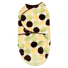 Bonkie for Baby Swaddle Blanket Yellow Dot - These are just too cute!