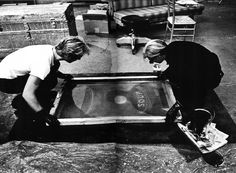 La sérigraphie: des origines aux années 1960. #andywarhol