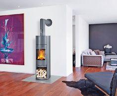 Homeplaza - Innovativer Kaminofen verwandelt das Wohnzimmer in einen Wohlfühlort - Knisternde Zutat für entspannte Momente