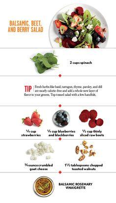 Great Summer Salad Recipes: Balsamic, Beet, and Berry Salad | CookingLight.com