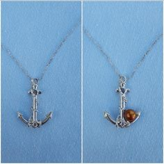 Check out this item in my Etsy shop https://www.etsy.com/listing/520443271/anchor-pendant-necklace-mount-your-pearl