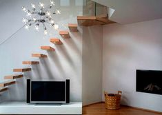 Feng Shui principles around placement and design of internal and external stairs.
