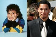 Then & Now: Richie Bryton (Family Matters) & Eric McClure Celebrities Then And Now, Young Celebrities, Black Tv, Black Kids, Black Sitcoms, African American Culture, Stars Then And Now, Celebrity Kids