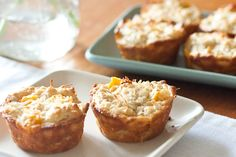 Mango Coconut Oat Muffins: Use Bob's Red Mill, All-Purpose Gluten Free Flour or Almond Flour in lu of APF here.  http://www.bobsredmill.com/gf-all_purpose-baking-flour.html?=15