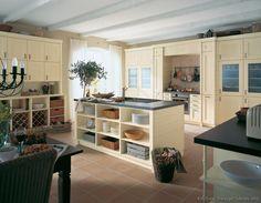 Traditional Antique White Kitchen Cabinets #28 (Alno.com, Kitchen-Design-Ideas.org)