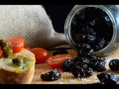 Ελιές θρούμπες πατητές - σπιτική συνταγή | Justlife - YouTube Kai, Fruit, Youtube, Food, Essen, Meals, Youtubers, Yemek, Youtube Movies