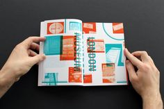 Language Research Book by William Branton, via Behance