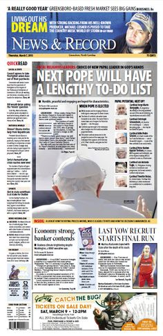 Front page: March 7, 2013
