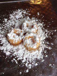 Powdered sugar mini donuts  www.bigfootslittledonuts.com