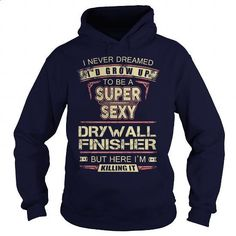 DRYWALL FINISHER - #vintage t shirts #cheap tees. MORE INFO => https://www.sunfrog.com/LifeStyle/DRYWALL-FINISHER-100153985-Navy-Blue-Hoodie.html?60505
