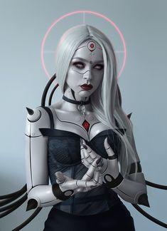 Cyberpunk 2077, Cyberpunk Girl, Arte Cyberpunk, Cyborg Girl, Female Cyborg, Arte Digital Fantasy, Character Inspiration, Character Art, Cyberpunk Aesthetic
