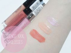 #Essence XXXL #Lip Glosses / Review and #Swatches