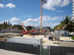 Porsche Design Tower in Sunny Isles Beach massive foundation construction side. Sales (786) 363-8551 http://www.sunnyislesbeachbroker.com/Porsche_Design_Tower/page_2489313.html  #PorscheDesignTower #SunnyIslesBeach
