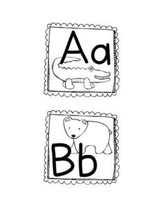 Zoo Animal Phonics Word Wall Labels, Flashcards