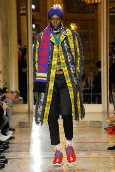 Versace, Autunno/Inverno 2018, Milano, Menswear