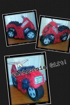 Motorcycle piñata !!!