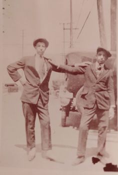 Manuel Navo (left) & Louie Garcia 1917 were boxers from Boyle Heights East Los Angeles, Bury, Boxers, Family History, Cemetery, California, Memories, People, Vintage