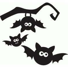 Silhouette Design Store: halloween bat set Source by manfred_ka Halloween Stencils, Halloween Tags, Moldes Halloween, Theme Halloween, Diy Halloween Decorations, Halloween 2019, Holidays Halloween, Halloween Crafts, Happy Halloween